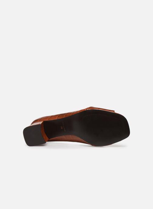 Zapatos de tacón Nat & Nin PERNY Marrón vista de arriba