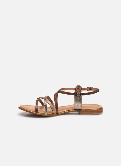 Sandales et nu-pieds Les Tropéziennes par M Belarbi HARRY Or et bronze vue face