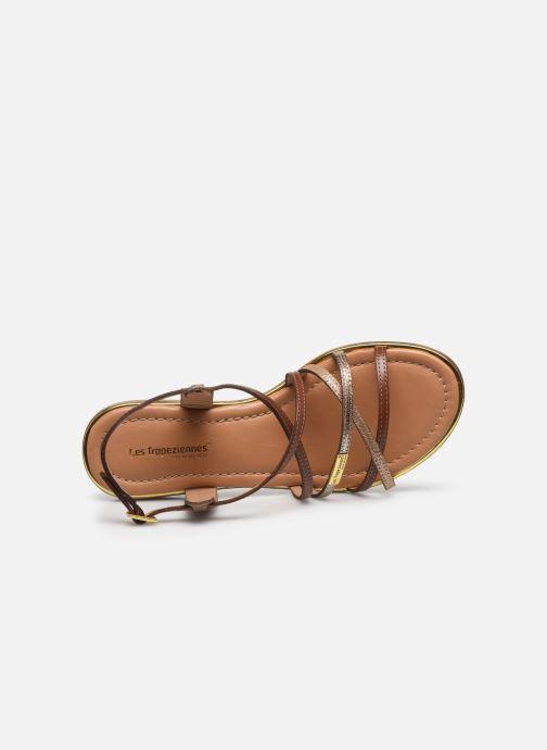Sandales et nu-pieds Les Tropéziennes par M Belarbi HARRY Or et bronze vue gauche