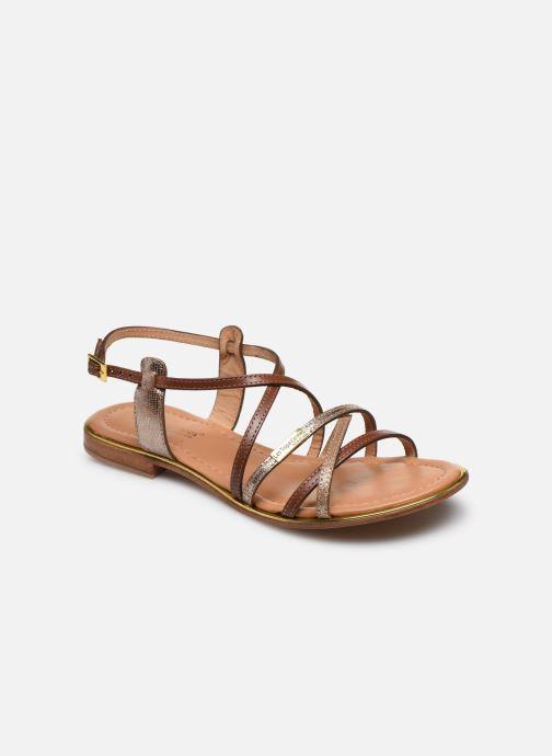 Sandales et nu-pieds Les Tropéziennes par M Belarbi HARRY Or et bronze vue détail/paire
