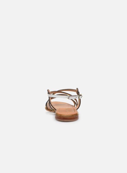 Sandales et nu-pieds Les Tropéziennes par M Belarbi HARRY Blanc vue droite