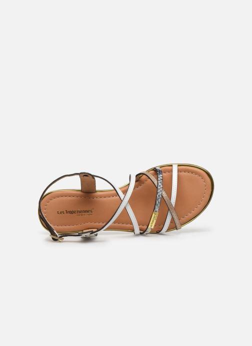 Sandales et nu-pieds Les Tropéziennes par M Belarbi HARRY Blanc vue gauche