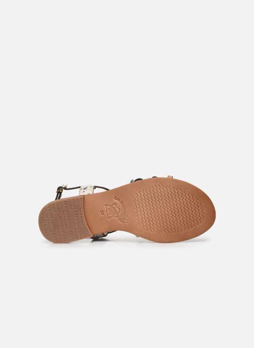 Sandales et nu-pieds Les Tropéziennes par M Belarbi HARRY Blanc vue haut