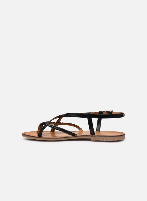 Sandales et nu-pieds Les Tropéziennes par M Belarbi CHOU Noir vue face