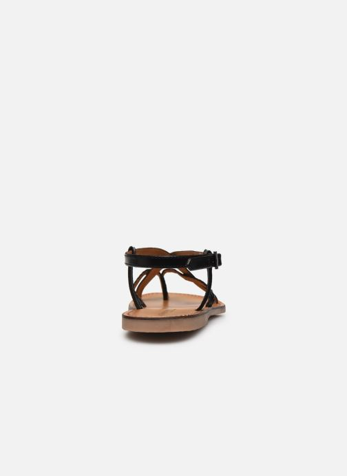 Sandalias Les Tropéziennes par M Belarbi CHOU Negro vista lateral derecha