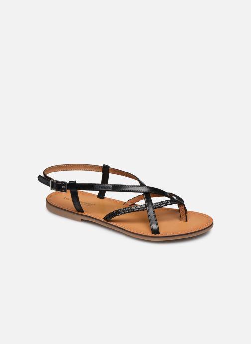 Sandales et nu-pieds Les Tropéziennes par M Belarbi CHOU Noir vue détail/paire
