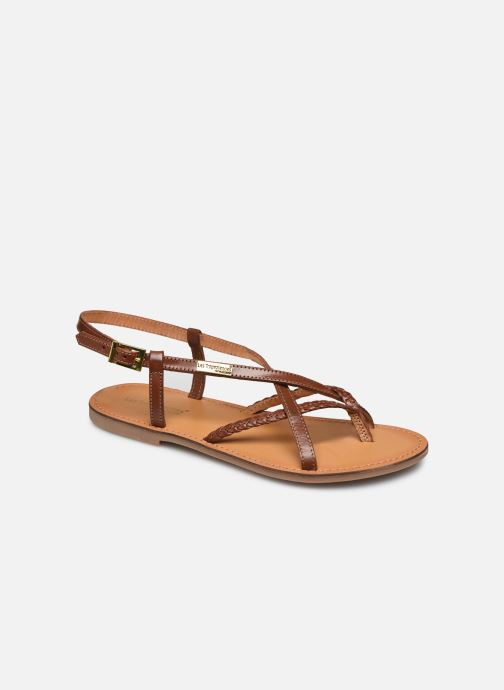 Sandales et nu-pieds Les Tropéziennes par M Belarbi CHOU Marron vue détail/paire