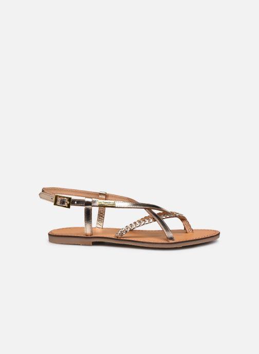 Sandales et nu-pieds Les Tropéziennes par M Belarbi CHOU Or et bronze vue derrière