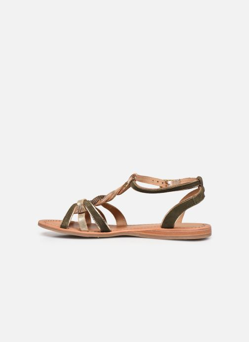 Sandales et nu-pieds Les Tropéziennes par M Belarbi HAMUC Vert vue face