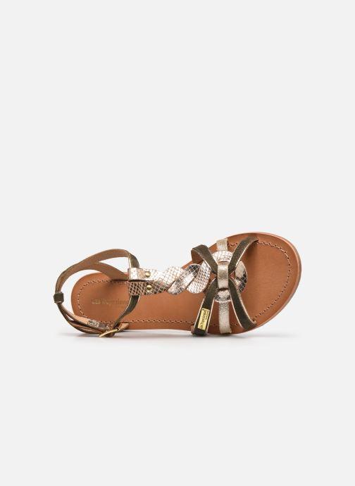 Sandales et nu-pieds Les Tropéziennes par M Belarbi HAMUC Vert vue gauche