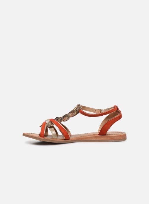 Sandali e scarpe aperte Les Tropéziennes par M Belarbi HAMUC Arancione immagine frontale