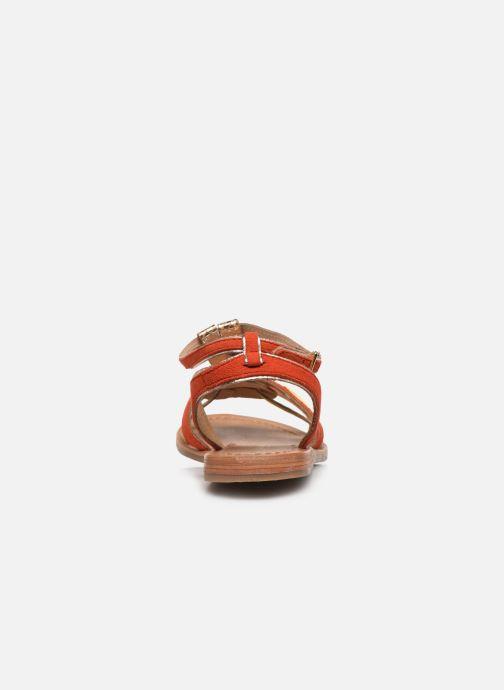 Sandali e scarpe aperte Les Tropéziennes par M Belarbi HAMUC Arancione immagine destra