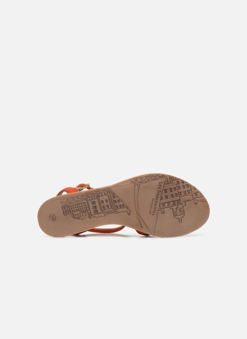 Sandali e scarpe aperte Les Tropéziennes par M Belarbi HAMUC Arancione immagine dall'alto