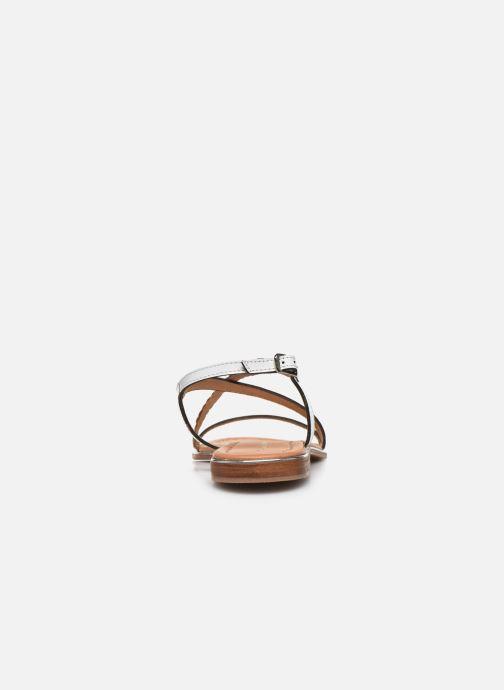 Sandales et nu-pieds Les Tropéziennes par M Belarbi HORSOU Blanc vue droite
