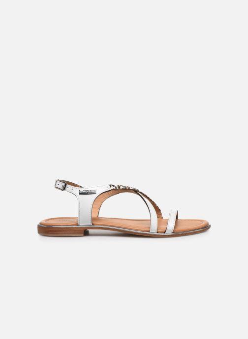 Sandales et nu-pieds Les Tropéziennes par M Belarbi HORSOU Blanc vue derrière
