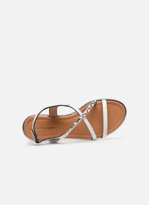 Sandales et nu-pieds Les Tropéziennes par M Belarbi HORSOU Blanc vue gauche