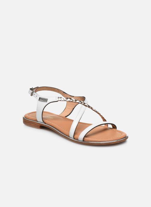 Sandales et nu-pieds Les Tropéziennes par M Belarbi HORSOU Blanc vue détail/paire