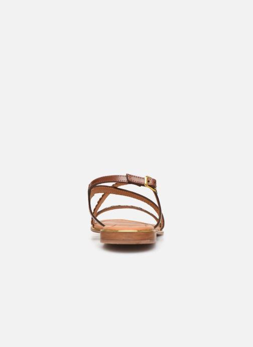 Sandales et nu-pieds Les Tropéziennes par M Belarbi HORSOU Or et bronze vue droite