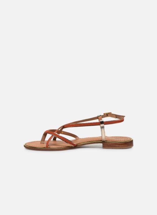 Sandali e scarpe aperte Les Tropéziennes par M Belarbi MONAGOLD Arancione immagine frontale