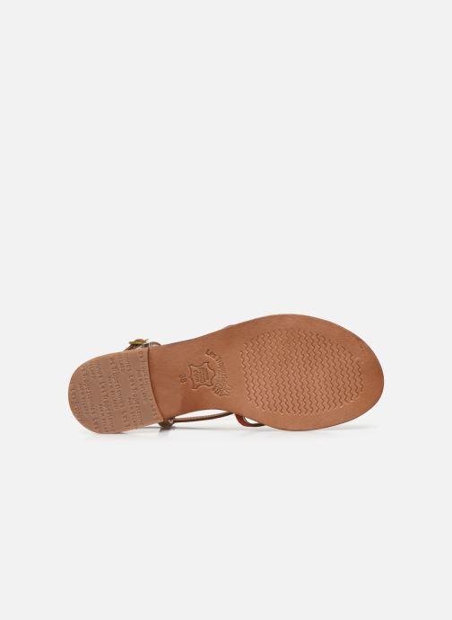 Sandali e scarpe aperte Les Tropéziennes par M Belarbi MONAGOLD Arancione immagine dall'alto