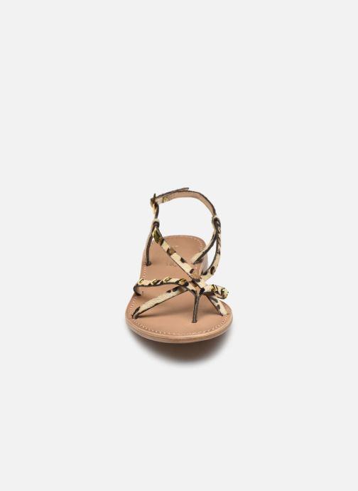 Sandales et nu-pieds Les Tropéziennes par M Belarbi MONACLOU Marron vue portées chaussures