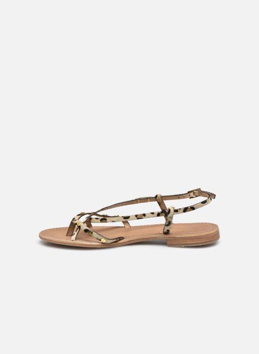 Sandales et nu-pieds Les Tropéziennes par M Belarbi MONACLOU Marron vue face