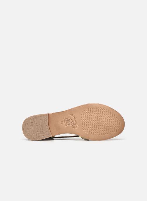 Sandales et nu-pieds Les Tropéziennes par M Belarbi MONACLOU Marron vue haut