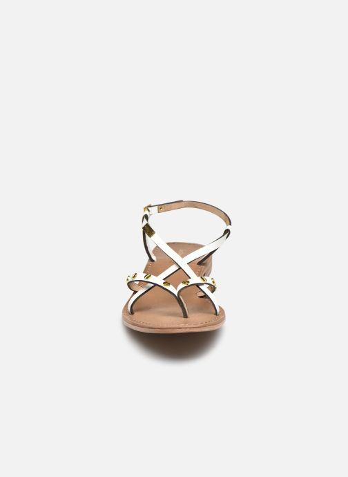 Sandales et nu-pieds Les Tropéziennes par M Belarbi MONACLOU Blanc vue portées chaussures