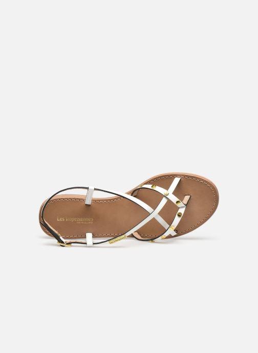 Sandales et nu-pieds Les Tropéziennes par M Belarbi MONACLOU Blanc vue gauche