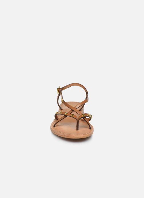 Sandales et nu-pieds Les Tropéziennes par M Belarbi MONACLOU Beige vue portées chaussures