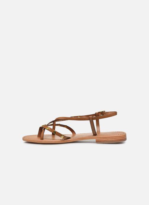 Sandales et nu-pieds Les Tropéziennes par M Belarbi MONACLOU Beige vue face