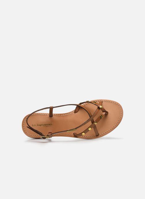 Sandales et nu-pieds Les Tropéziennes par M Belarbi MONACLOU Beige vue gauche