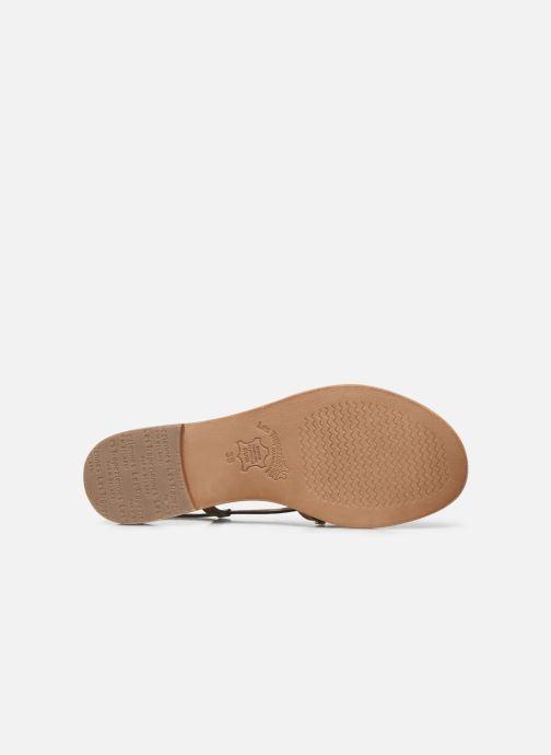 Sandales et nu-pieds Les Tropéziennes par M Belarbi MONACLOU Beige vue haut