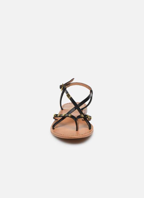 Sandales et nu-pieds Les Tropéziennes par M Belarbi MONACLOU Noir vue portées chaussures