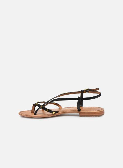 Sandales et nu-pieds Les Tropéziennes par M Belarbi MONACLOU Noir vue face