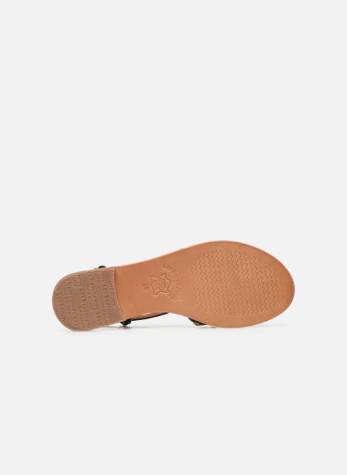 Sandales et nu-pieds Les Tropéziennes par M Belarbi MONACLOU Noir vue haut