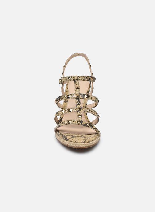 Espadrilles Les Tropéziennes par M Belarbi CRISTELA Beige vue portées chaussures