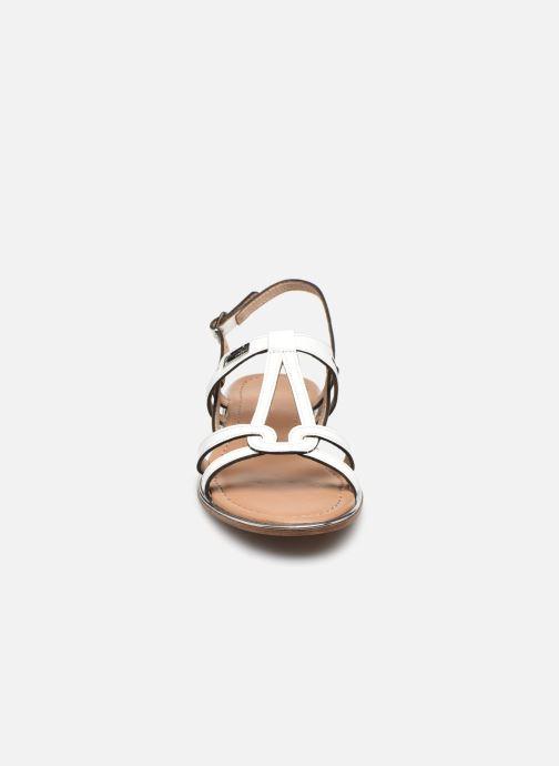 Sandales et nu-pieds Les Tropéziennes par M Belarbi HACKLE Blanc vue portées chaussures