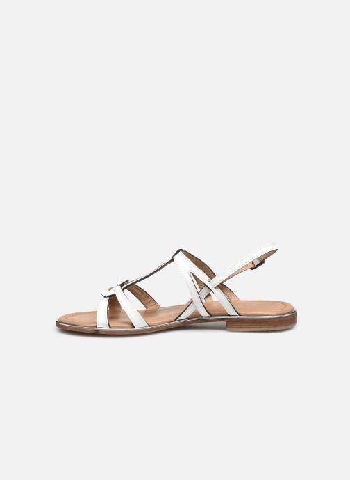 Sandales et nu-pieds Les Tropéziennes par M Belarbi HACKLE Blanc vue face