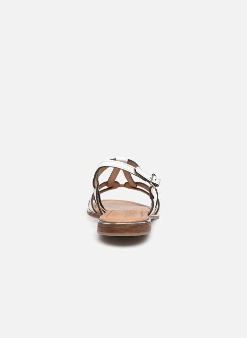 Sandales et nu-pieds Les Tropéziennes par M Belarbi HACKLE Blanc vue droite