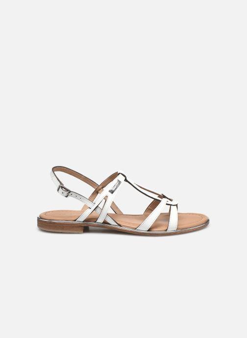 Sandales et nu-pieds Les Tropéziennes par M Belarbi HACKLE Blanc vue derrière