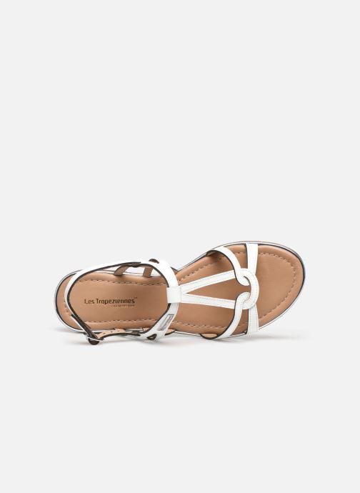 Sandales et nu-pieds Les Tropéziennes par M Belarbi HACKLE Blanc vue gauche