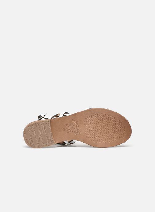 Sandales et nu-pieds Les Tropéziennes par M Belarbi HACKLE Blanc vue haut