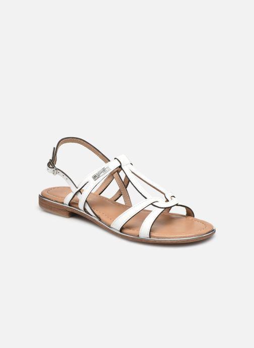 Sandales et nu-pieds Les Tropéziennes par M Belarbi HACKLE Blanc vue détail/paire