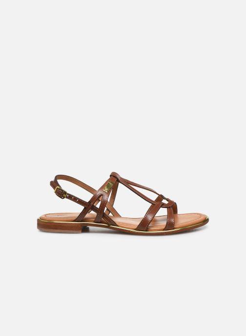 Sandales et nu-pieds Les Tropéziennes par M Belarbi HACKLE Marron vue derrière