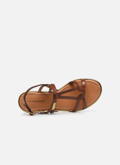 Sandales et nu-pieds Les Tropéziennes par M Belarbi HACKLE Marron vue gauche