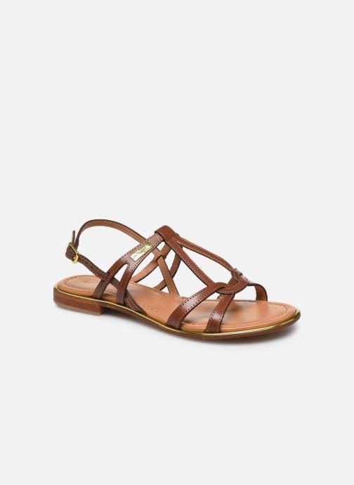 Sandales et nu-pieds Les Tropéziennes par M Belarbi HACKLE Marron vue détail/paire