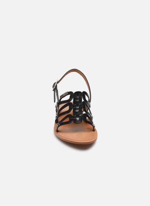 Sandales et nu-pieds Les Tropéziennes par M Belarbi HAMPI Noir vue portées chaussures
