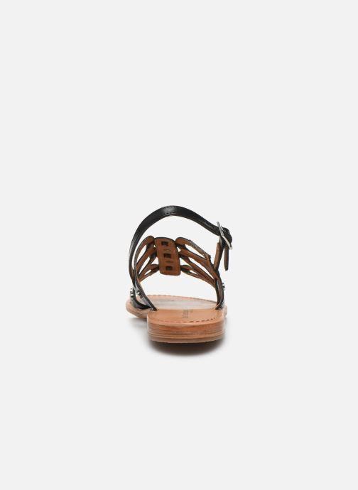 Sandales et nu-pieds Les Tropéziennes par M Belarbi HAMPI Noir vue droite
