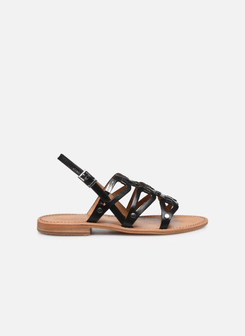 Sandales et nu-pieds Les Tropéziennes par M Belarbi HAMPI Noir vue derrière